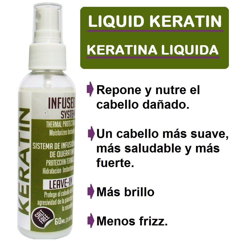 Amazon.com : Brazilian Hair Keratin - Queratina Protector de Secadora 6oz RECARGA DE KERATINA : Beauty