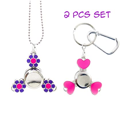 Amazon.com: FROG SAC 2 piezas Mini Fidget Spinner collar y ...
