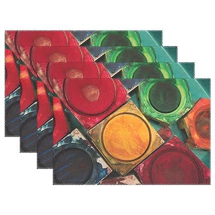 Amazon com: DNOVING Color Paint Boxes Tusche Indian Ink
