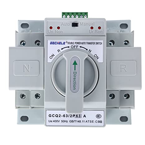 Business & Industrial 1pcs Mini type transfer switch Dual power ...