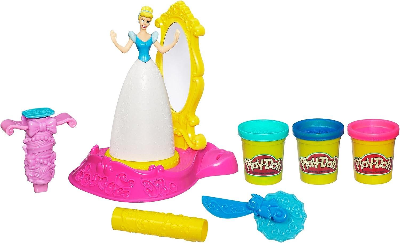 Play-Doh Disney Princess Spin /& Style Cinderella Set