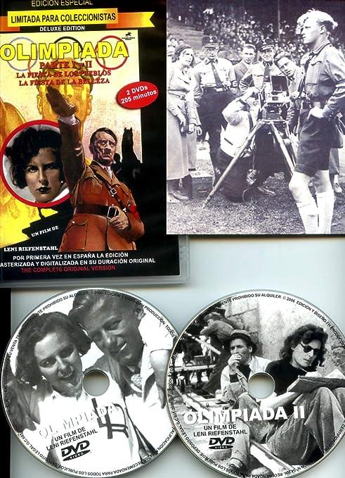 Olimpiada Parte I y II - Edición de Lujo: Amazon.es: LENI RIEFENSTAHL, LENI RIEFENSTAHL, ÁNGEL SACRISTÁN: Cine y Series TV