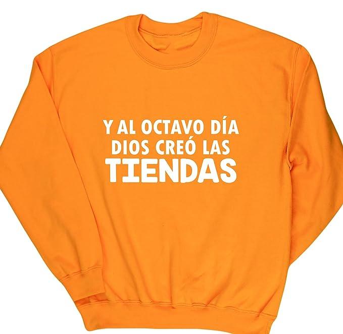 HippoWarehouse Y Al Octavo Día Dios Creó Las Tiendas jersey sudadera suéter derportiva unisex