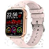 2020 CEGAR Fitness Tracker, Smart Watch with Heart Rate, Ip68 Waterproof Bluetooth Smartwatch for Android iOS Phone, Sleep Tr