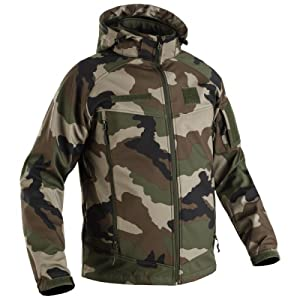 T.O.E - Softshell Storm Field 2.0 Camouflage