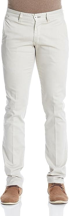 MAKARTHY Pantalón Chino Slim Beige ES 48: Amazon.es: Ropa y accesorios