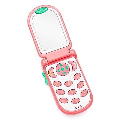 Infantino Flip and Peek Fun Phone, Pink : Toddler Blankets : Baby