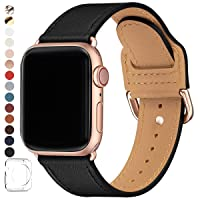 POWER PRIMACY Bands Compatible with Apple Watch Band 38mm 40mm 42mm 44mm, Top Grain...