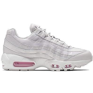 size 40 407f5 bc3fd Nike Women's Air Max 95 SE Vast Grey/Summit White/Psychic Pink AQ4138-