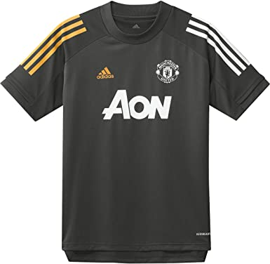 adidas Mens Manchester United Short Sleeve Training Jersey