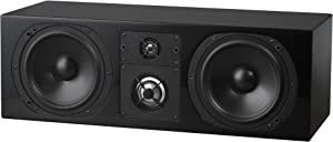 NHT C Series C LCR Premium Home Theater 3-Way Center Channel Speaker - Clean, Hi-Res Audio | Sealed Box | Aluminum Drivers | Front Left, Front Right, or Center | Single, High Gloss Black
