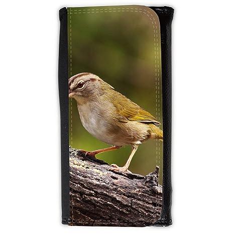le portefeuille de grands luxe femmes avec beaucoup de compartiments // F00032100 pájaro del gorrión
