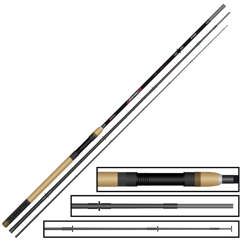 Forellen und Zander Angelrute VAXTRZ330 Shimano Vengeance AX Trout Zander 5-40 gramm 3.30 meter 3 Teile