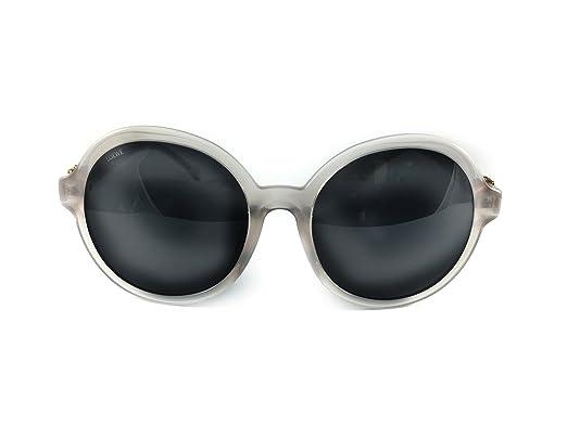Loewe Damen Sonnenbrille SLW949G570M77, Grau (Shiny Opaline Grey), 57