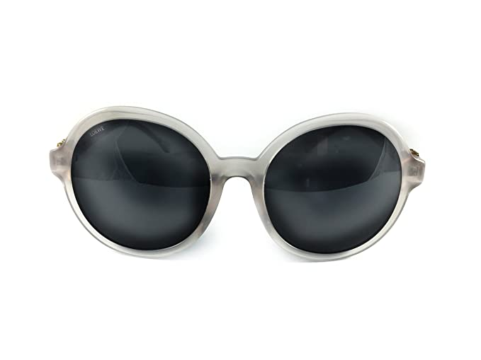 Loewe SLW949G570M77 Gafas de sol, Shiny Opaline Grey, 57 ...