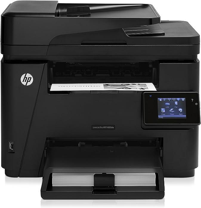 HP Laserjet Pro M225dw Wireless Monochrome Printer with Scanner, Copier and Fax, Amazon Dash Replenishment Ready (CF485A)