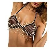 MineSign Sexy Body Chain Women Rhinestone Diamond