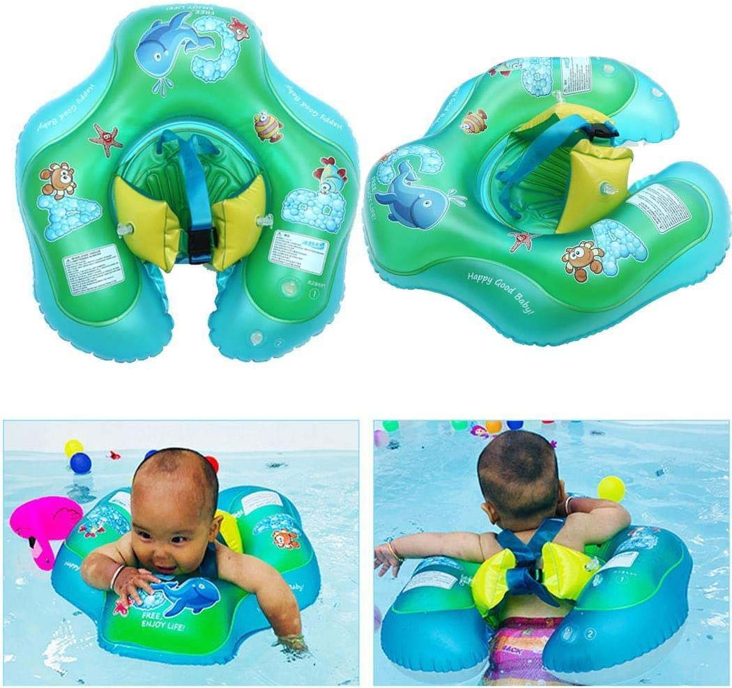 Baby Float Swimming Ring Waist Inflatable Swim Ring Pool Bath Water Toy