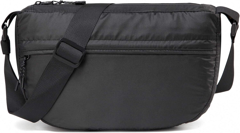 SAVERRY Small Lightweight Messenger Bags Nylon Waterproof Foldable Crossbody Shoulder Bag Purse