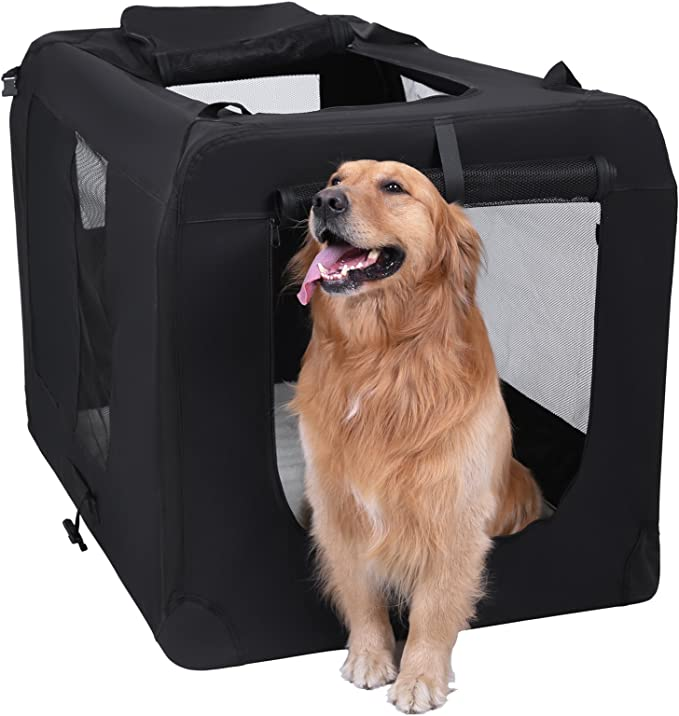 FEANDREA Bolsa de Transporte para Mascotas Transportín Plegable ...