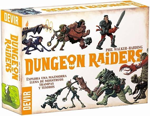 Devir- Dungeon Raiders, única (BGHRAI): Amazon.es: Juguetes y juegos