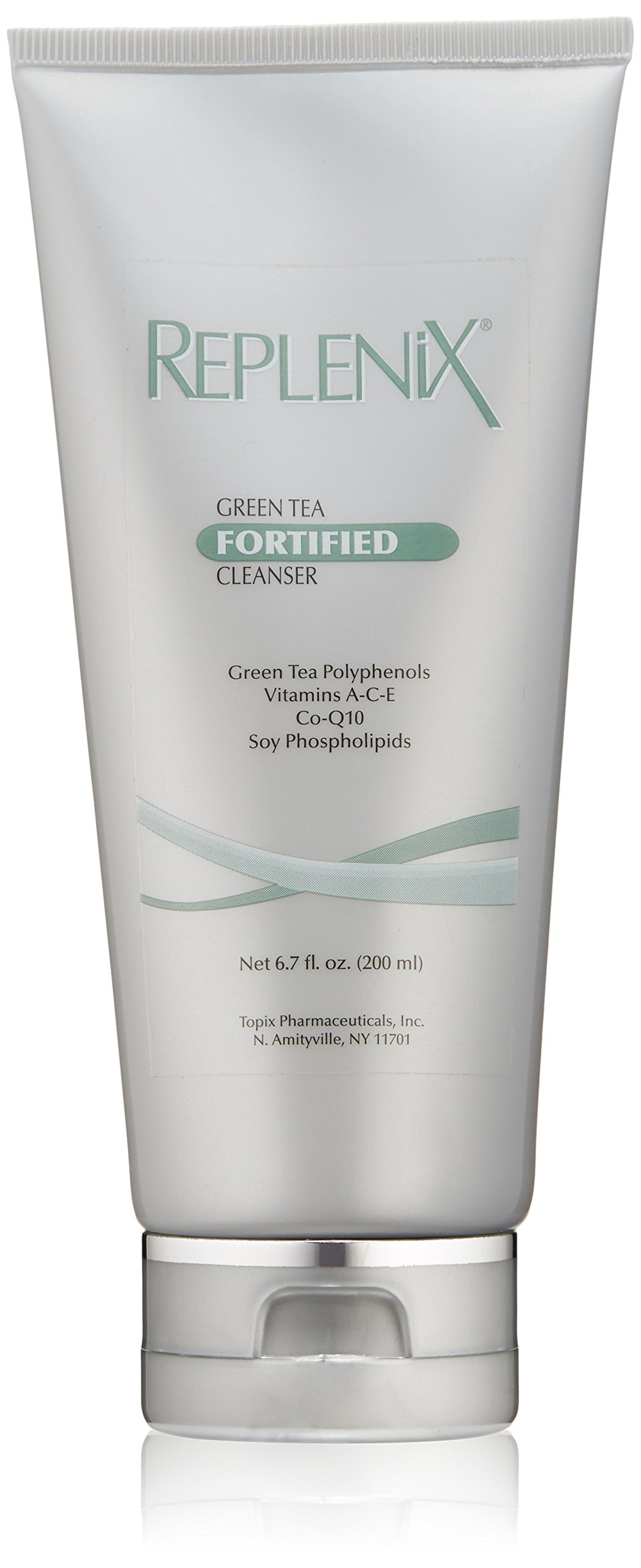 Replenix Green Tea Fortified Antioxidant Cleanser Naturally Soothes and Hydrates Sensitive Skin, 6.7 Fl oz