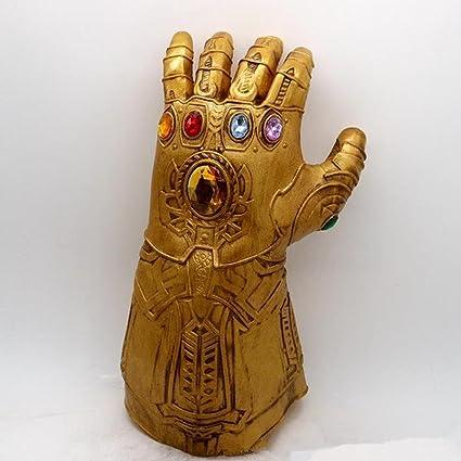 SGerste Thanos Infinity - Guante para cosplay, disfraz de la ...