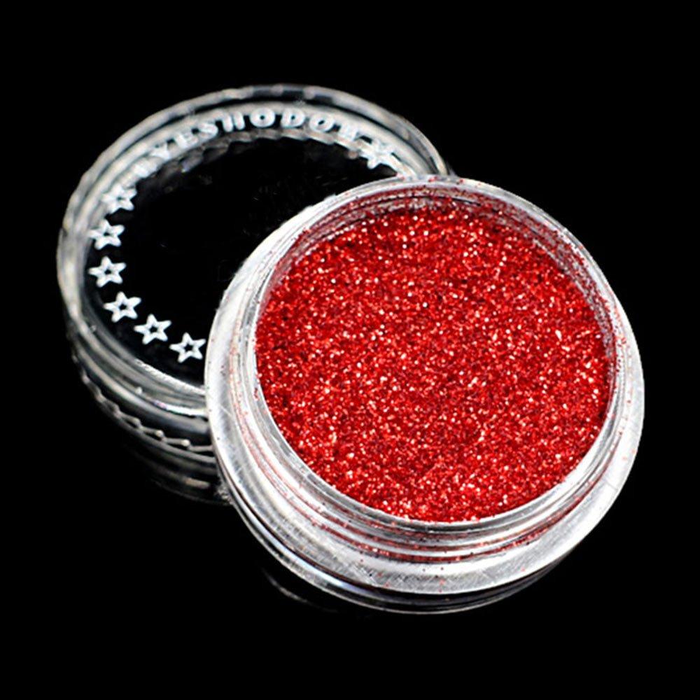 polvo decorativo rojo