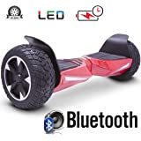 2018 Two Wheel Self Balance Scooter Off-Road Hoverboard UL 2272 Bluetooth Speakers 8.5 Inch All Terrain Road Condition
