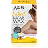 Nad's Sugar Wax Kit - Wax Hair Removal For Women - Body+Face Wax - All Skin Types - At Home Waxing Kit With 6 Oz Sugar Wax, C