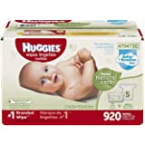 Huggies Natural Care Baby Wipe Refill, Unscented (920 Count)