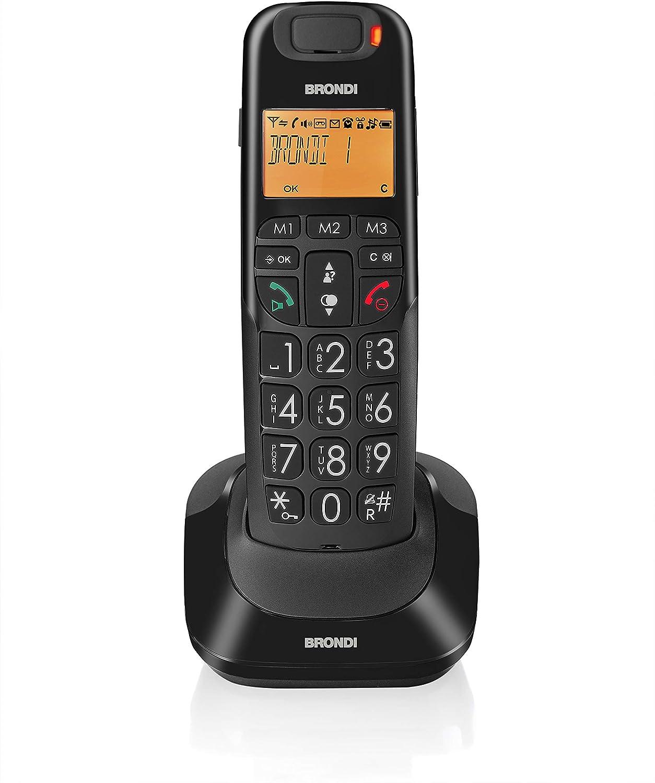 Brondi Bravo Bright - Teléfono inalámbrico: Amazon.es: Electrónica