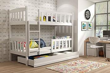 Etagenbett Mit Schublade : Etagenbett kinderbett stockbett hochbett eryk matratze