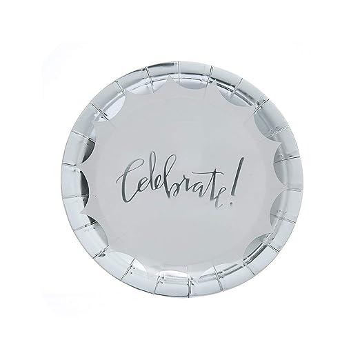 Juego de 10 platos desechables de plástico para fiestas de ...