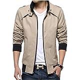 BBSMYA Vêtement Blouson pour Homme parka veste jacket manche longue  printemps Outwear casual sport confortable 74e6941e02d9