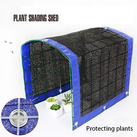 70/% sombra sol negro de malla sombra red resistente Ultravioleta solar clubking para jard/ín flor planta