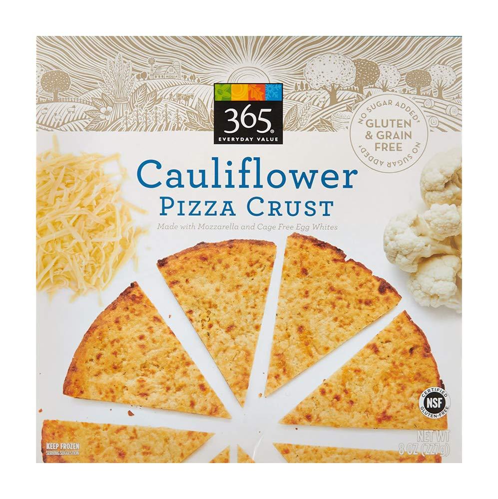 365 Everyday Value, Cauliflower Pizza Crust, 8 oz (Frozen)