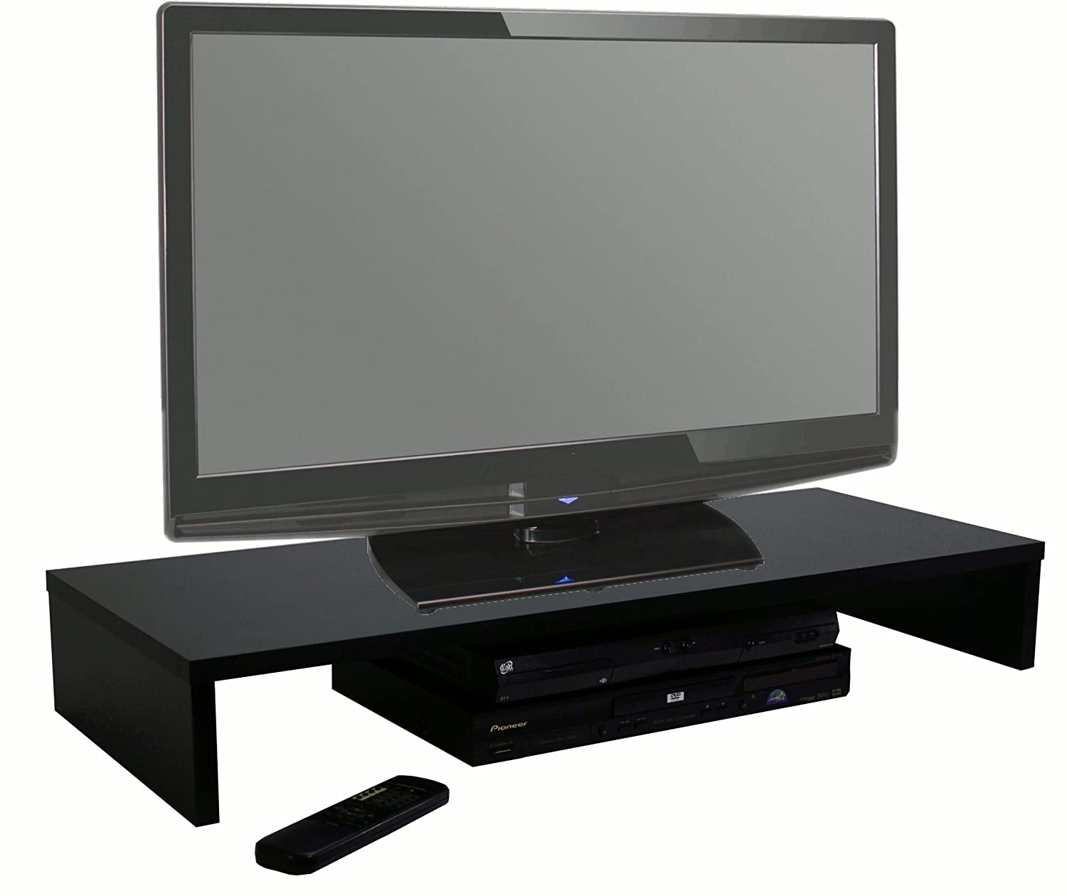 Table De Television Affordable Planches Parpaings Caisses De Vin  # Table En Bois Pour Television