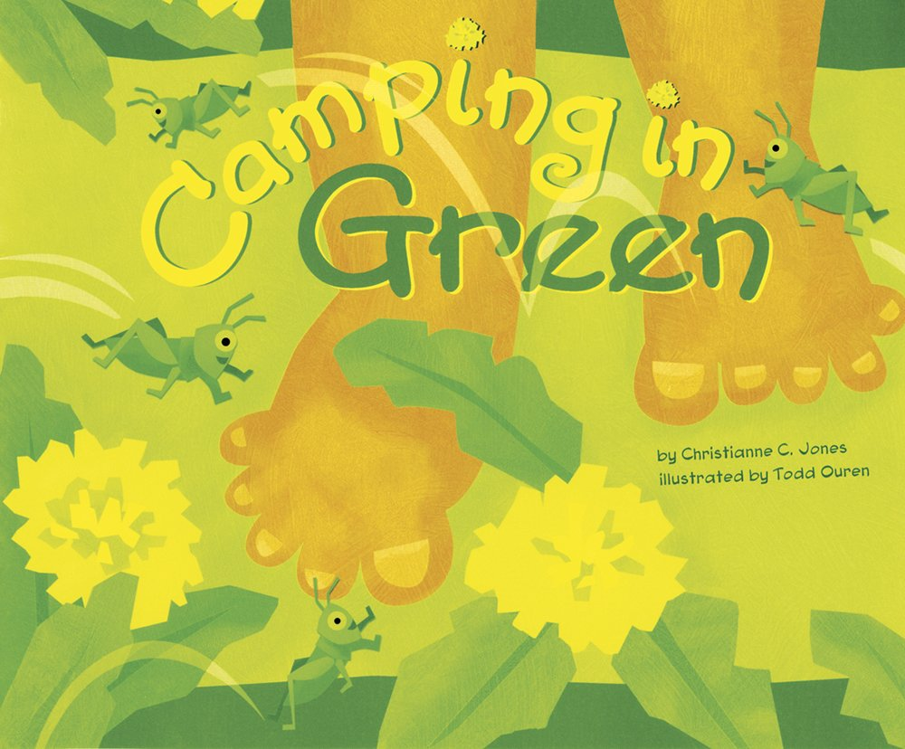 Camping in Green (Know Your Colors) PDF
