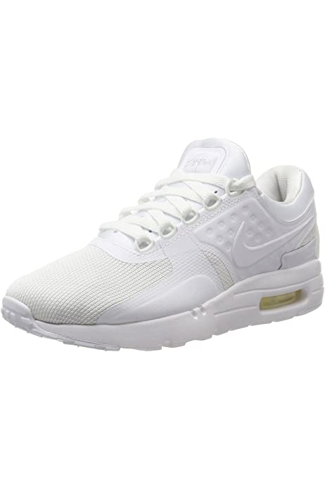 Nike Air Max Zero Essential GS Trainers in Black, Wolf Grey