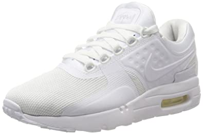 NIKE AIR MAX Zero Essential Mens Running-Shoes 876070-1006.5 - White