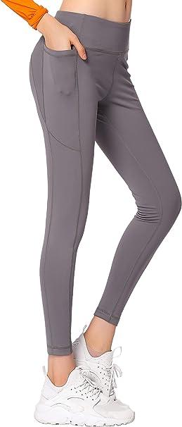 Gmardar Mallas para Mujer Cintura Alta Pantalones de Yoga Largos de Talle Alto El/ásticos Transpirables Leggins Pantal/ón Deportivo de Mujer para Running Fitness Pilates Entrenamiento Ciclismo