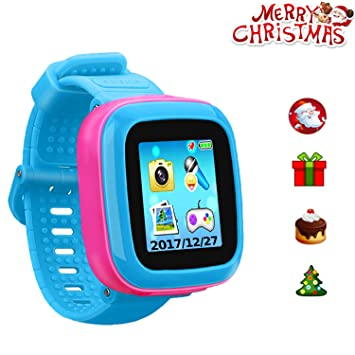 "Kids Game Watch Smart Watch for Kids Childrens Birthday Gift with 1.5 "" Touch Screen and 10 Games, Childrens Watch Pedometer Clock Smart Watch Kids ..."