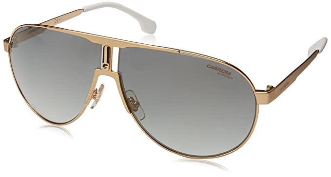 efd314e541cf Amazon.com: Carrera Men's 1005/s Aviator Sunglasses, Gold, 66 mm ...