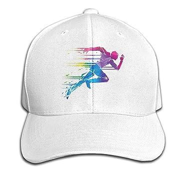 CarolJenkins Running Man Gorra de Baloncesto Ajustable Sombrero ...