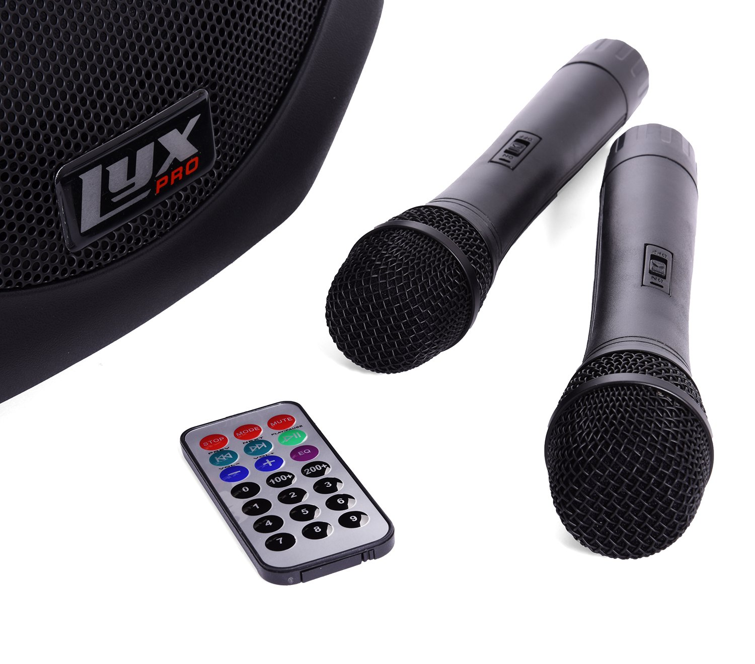 LyxPro SPA-12BAT Battery Powered Active Speaker Portable PA System Built In EQ & Rechargeable Battery, Bluetooth, MP3, USB, SD, 1/4'', 3.5mm by LyxPro (Image #5)