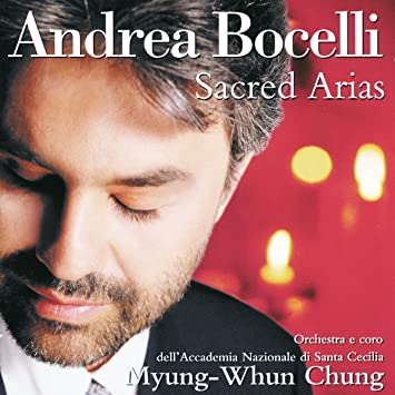 Image result for sacred arias andrea bocelli amazon