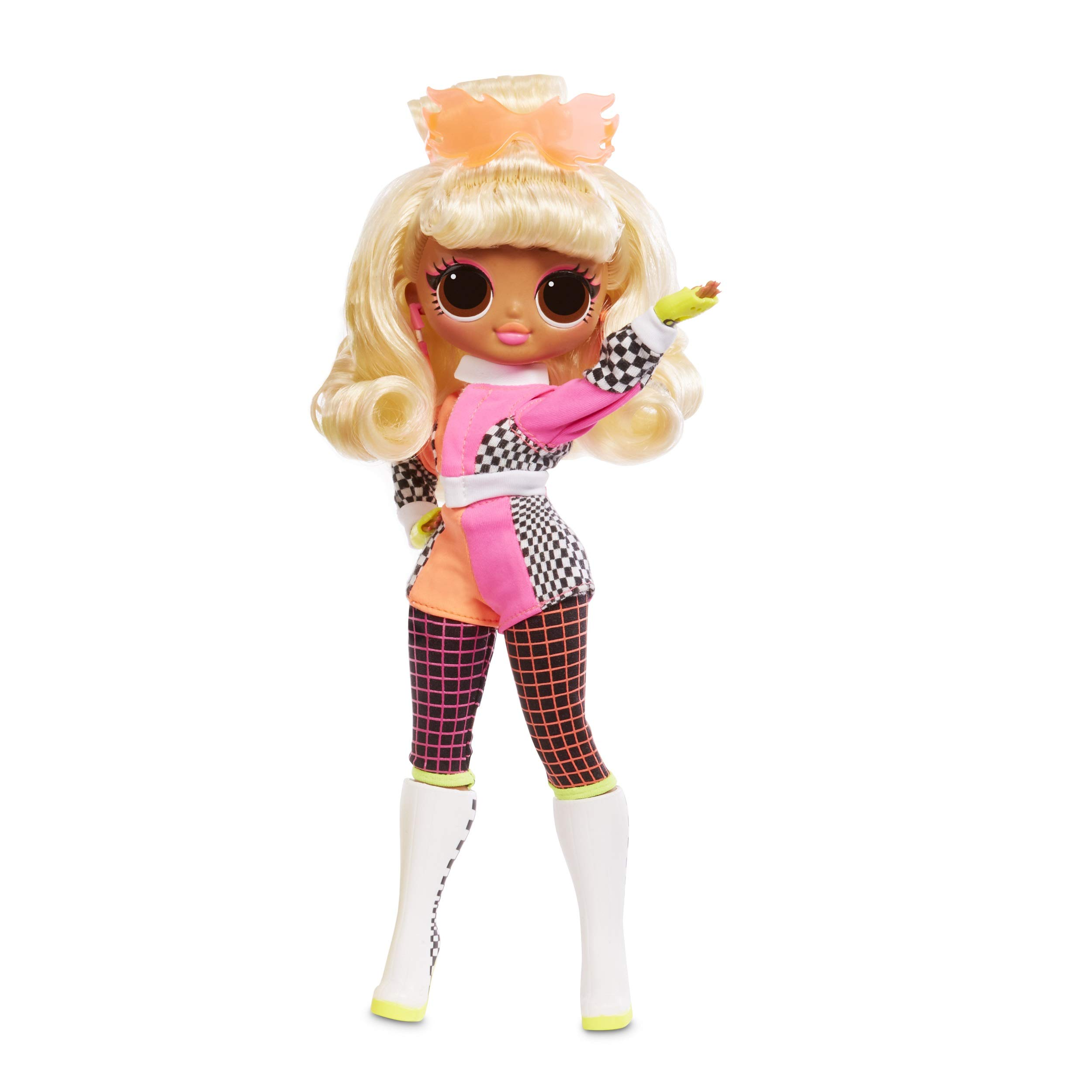 L.O.L. Surprise! O.M.G. Lights Speedster Fashion Doll with 15 Surprises Multicolor
