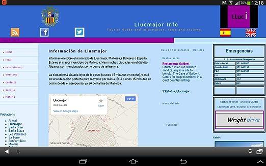 Amazon.com: Llucmajor Info: Appstore para Android