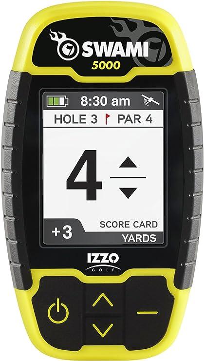 Izzo Golf Swami 5000 Golf Gps Entfernungsmesser Sport Freizeit